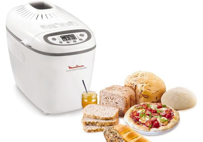 machine à pain moulinex home bread