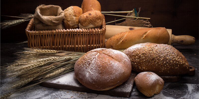 pain cuit avec machine à pain Panasonic
